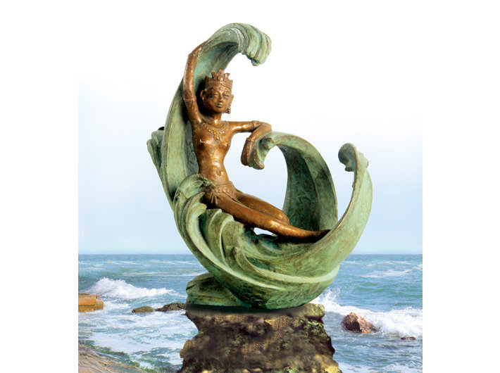 Princess of waves, Bronze