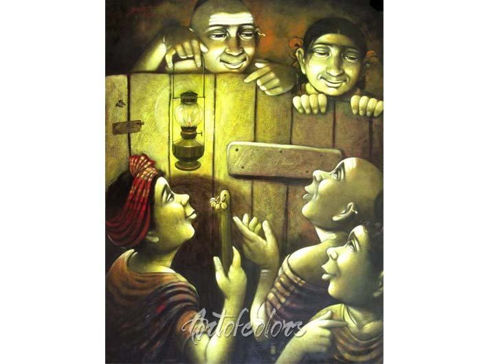 APET10 Acrylic On Canvas