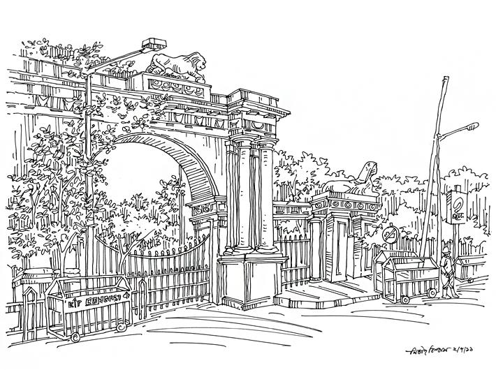 Raj Bhavan Gate