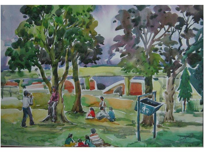 Jublee Park in Jamshedpur Town