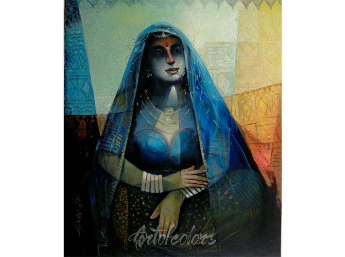 Queen of Blue City